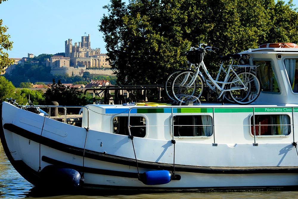 le Canal du Midi à Béziers ©JF Tissier