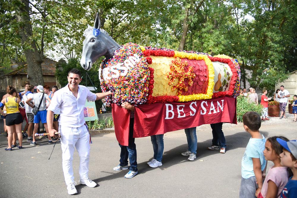 Fête de l'Âne de Bessan ©Hortes