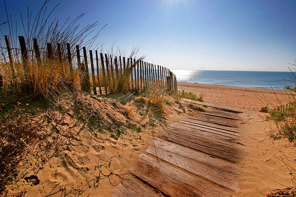 Plage des Orpellières à Sérignan plage ©G Deschamps
