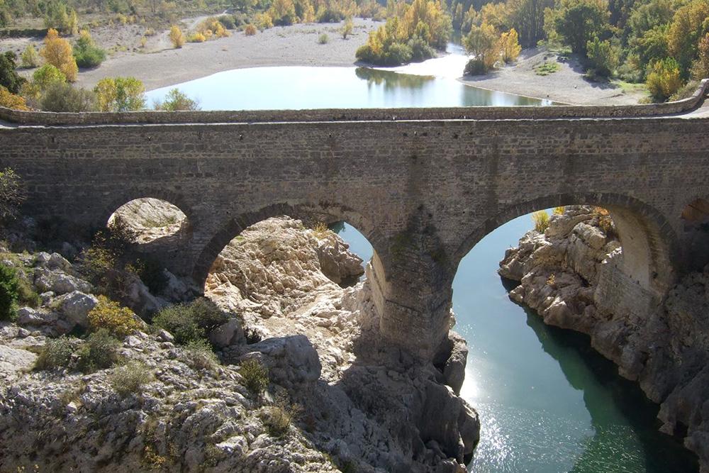 le Pont du Diable à Aniane