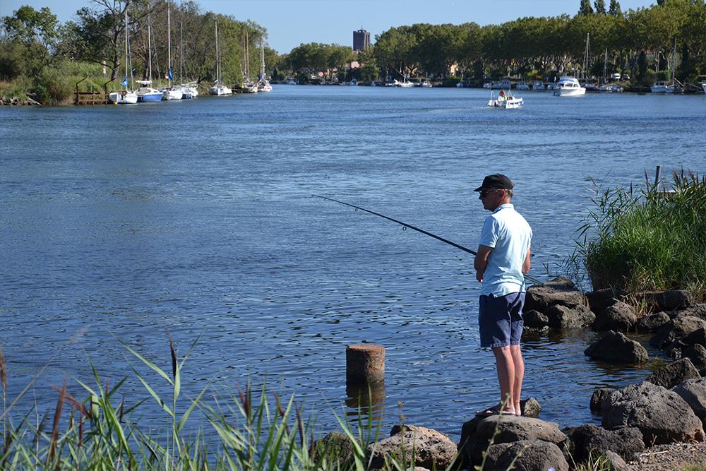 Pêche au Grau d'Agde ©Artcolor